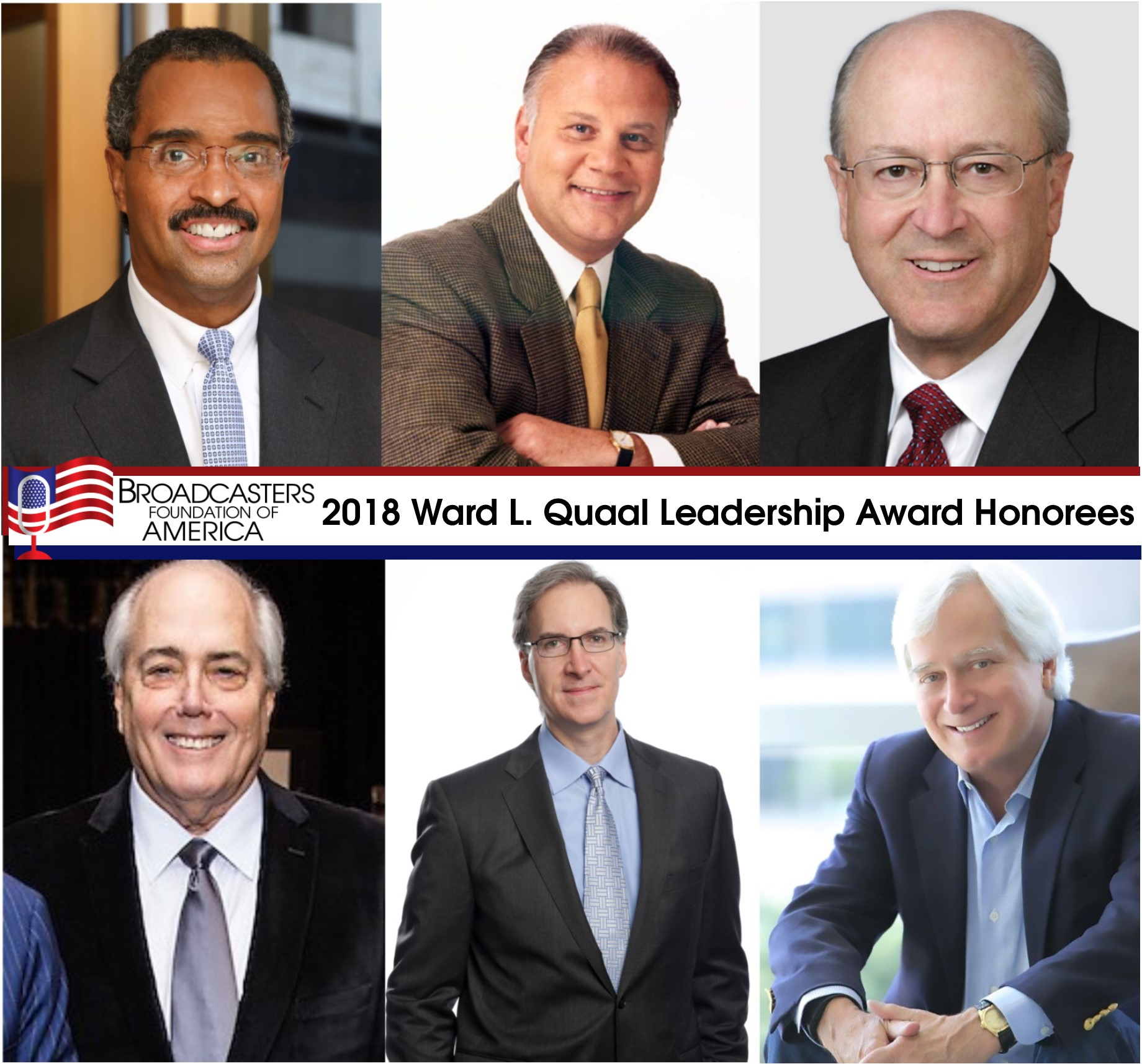 2018 Leadership Award Honorees Announced